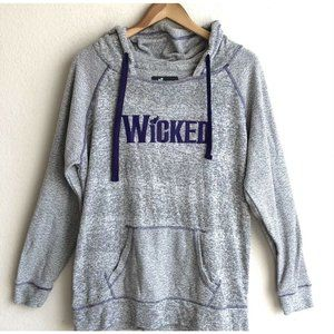 Green For Good Wicked Broadway Musical Hoodie L